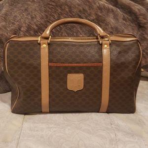 Authentic Celine Macadam Boston Bag